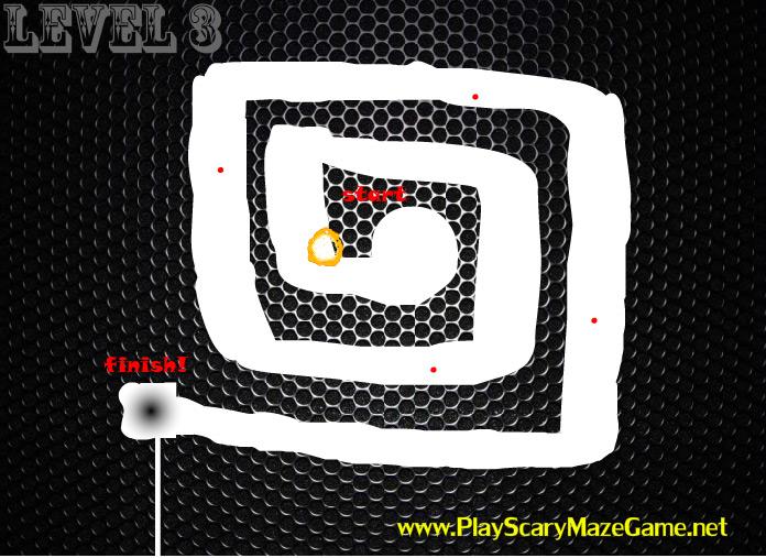 Level 3 fail - scary maze game 8