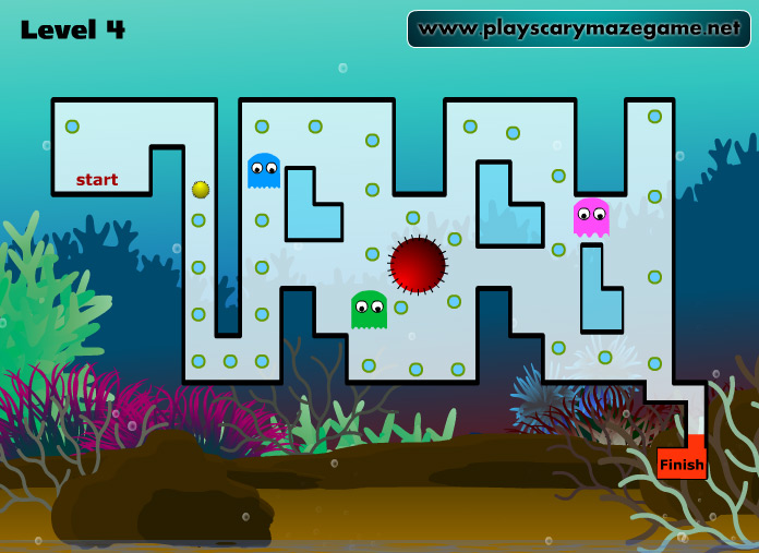 Scary Maze Game 9 - Level 4
