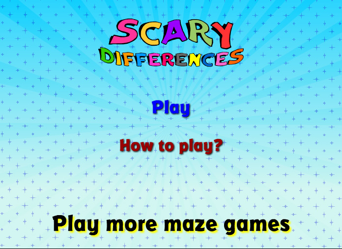 Play Scary Differences