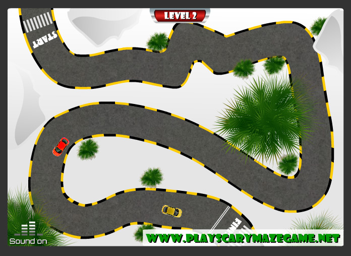 Level 2 - scary racing game