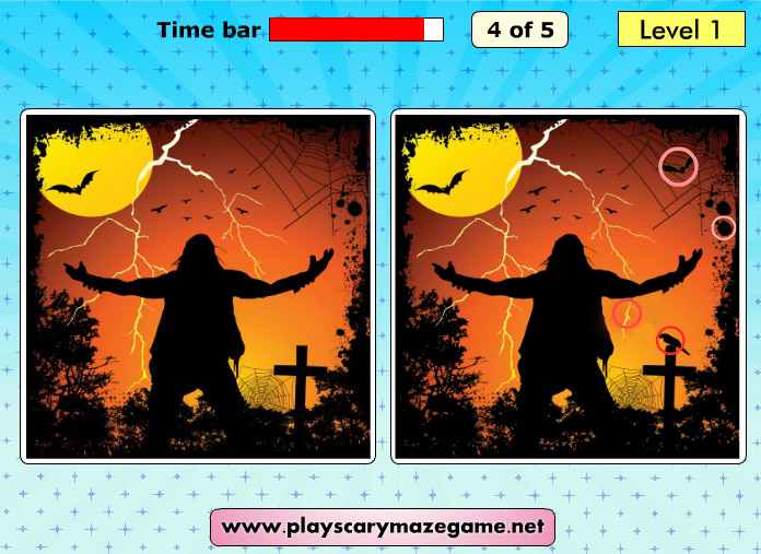 Play Scary Differences 2