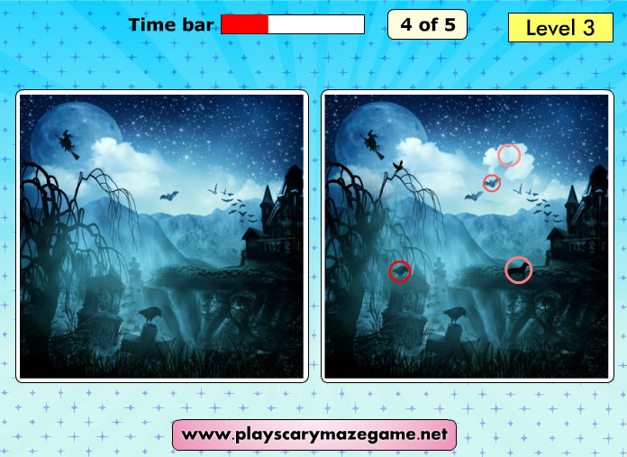 Scary Differences 2 - Level 3