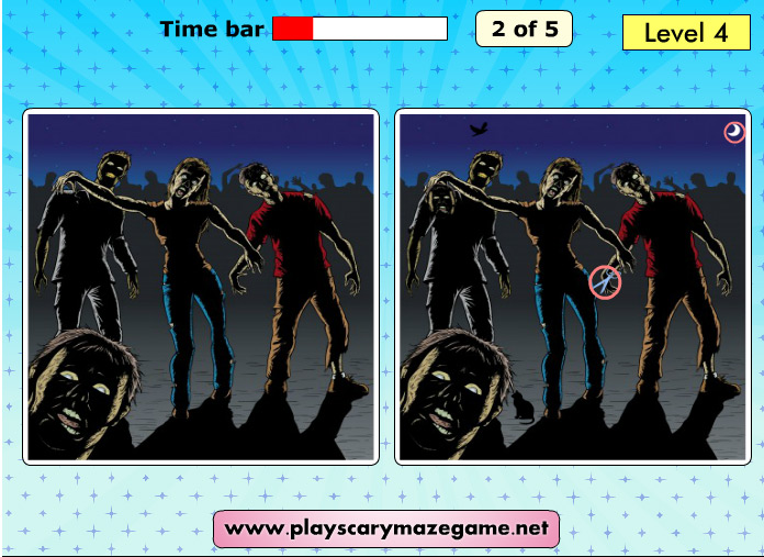 Scary Differences 2 - level 4