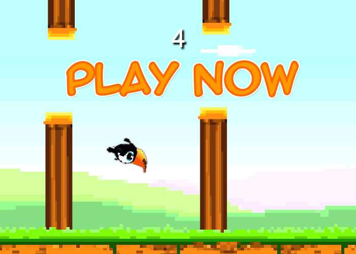 Play Scary Flappy Bird