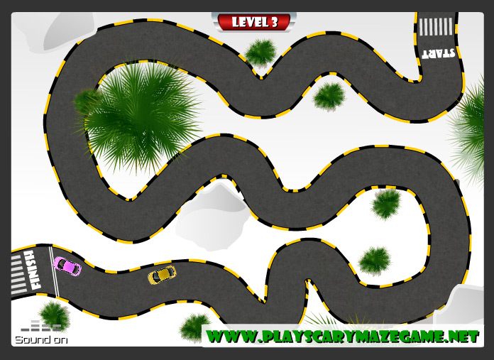 Level 3 - scary racing game