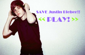 Click to play Justin Bieber Scary Maze game