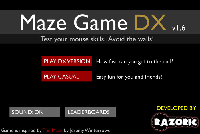 Play Scary Maze Game DX